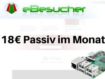 18€ Passiv im Monat